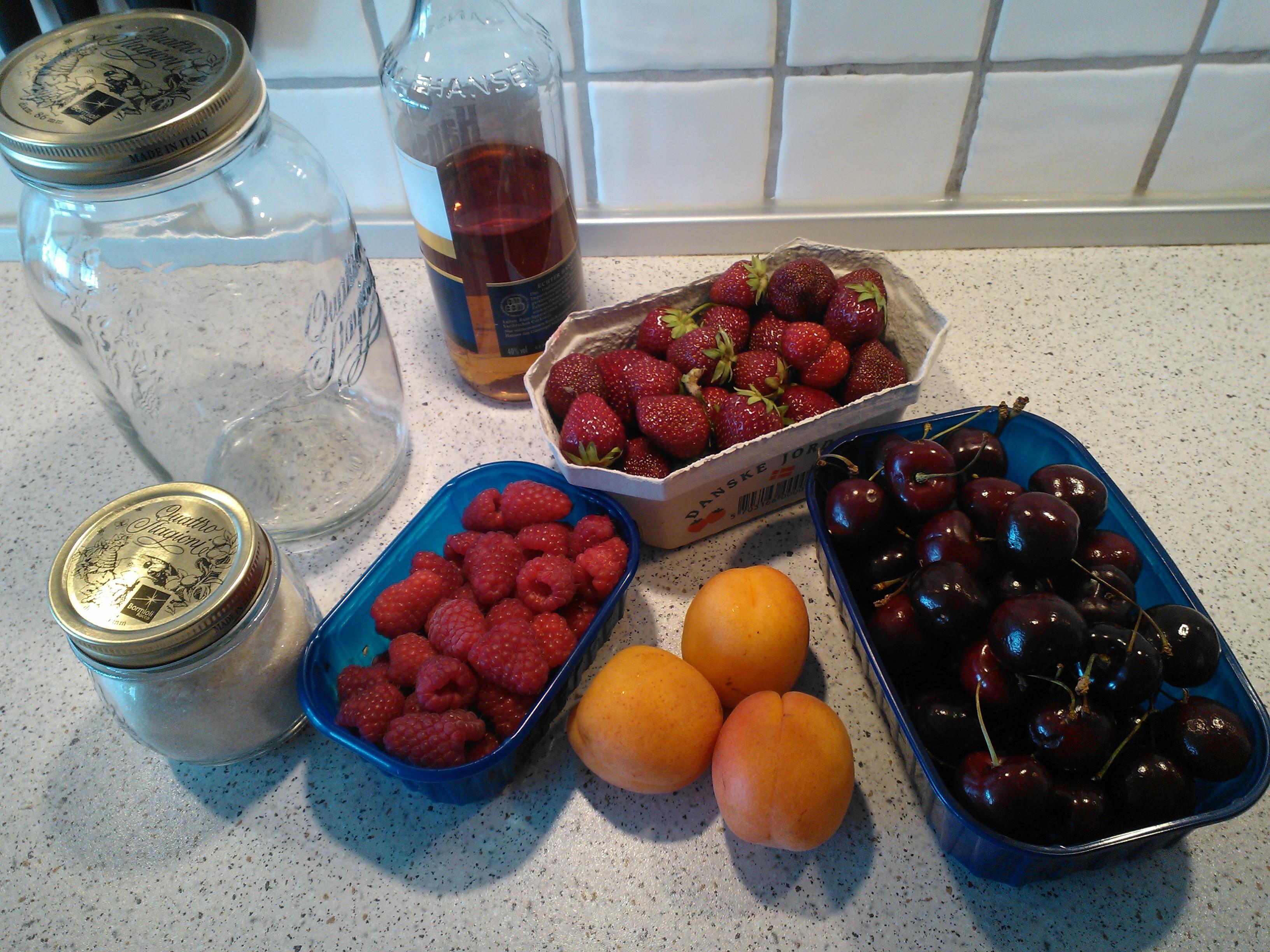 frugten er moden